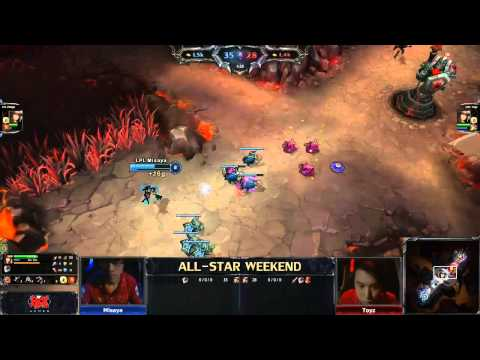 All-Star Mid Lane 1v1 tournament - Misaya (Caitlyn) vs Toyz (Caitlyn) - Finals