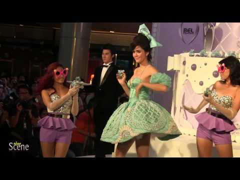Chompoo Araya Perfume Launch at Terminal 21 in Bangkok. Movie by Paul Hutton, Bangkok Scene.
