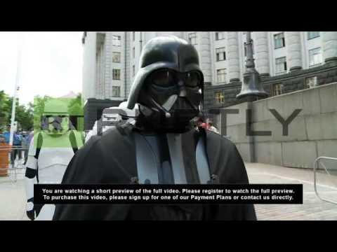 Ukraine: Darth Vader wanted by the FBI