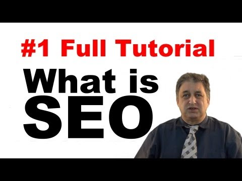 #1 SEO Tutorials for Beginners | What is SEO?