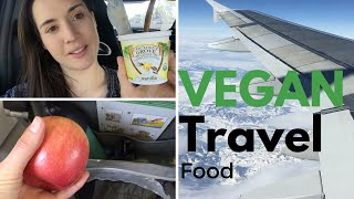 What I Ate On The Plane: Holiday Travel Collab w/ World of Vegan