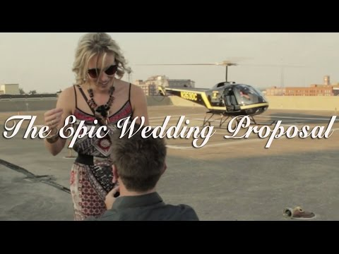 Epic Wedding Proposal