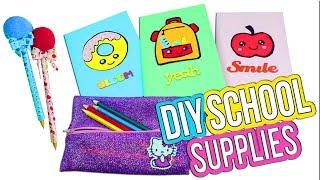 3 Easy DIY School Supplies - 5 Minute Crafts - Back to School Crafts