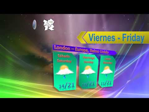 Weather for London, United Kingdom, Europe August 3, 2012/METEOFOREST/FORECA CHILE