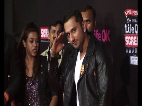 Yo Yo Honey Singh | Red Carpet Of Life Ok Screen Awards 2014. video