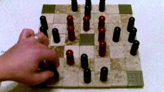 Hasami - Tafl - Ard Ri - Rules and Strategies