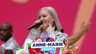Download lagu Anne-Marie - 'FRIENDS' (live at Capital's Summertime Ball 2018)