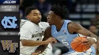 North Carolina vs. Wake Forest - Condensed Game | 2018-19 ACC Basketball