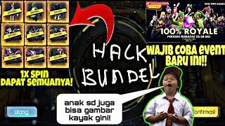 UNTUNG BESAR! Nyobain EVENT 1X SPIN 100% ROYALE! FREE FIRE