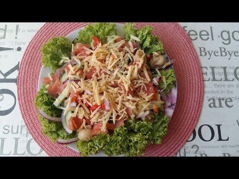 """Салат из семги """"Портофино"""". Салат с Семгой.Салат быстрый,вкусный,сытный.Удивите гостей."""
