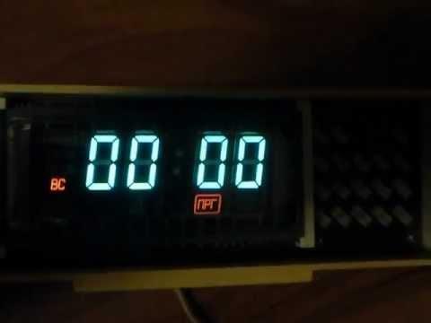 VFD hodiny / clock Электроника