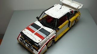 Lego Technic Audi S1 Quattro - Group B Monster - by dokludi