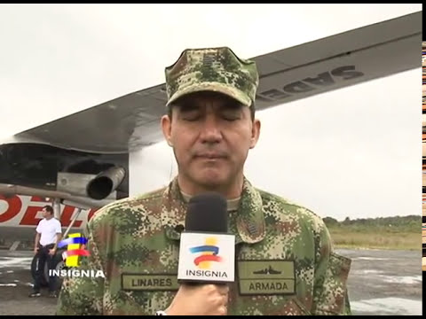 Armada Lanza Estación movil de apoyo fluvial en San Felipe Guainia