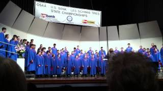 Mount Salem Video - South Salem High School's Symphonic Choir @ State 2014 Song2