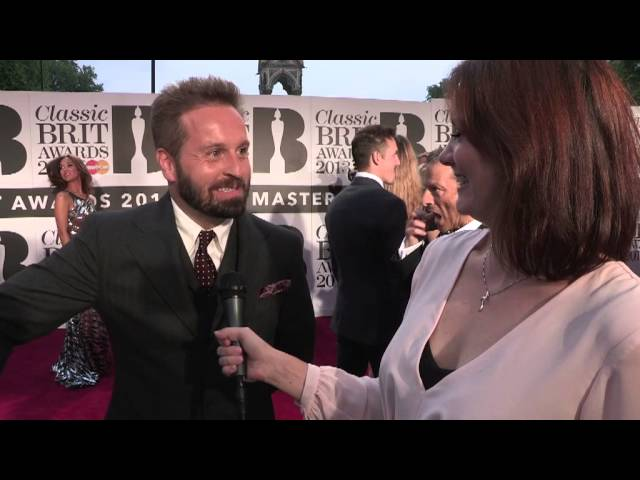Alfie Boe at the Classic BRIT Awards