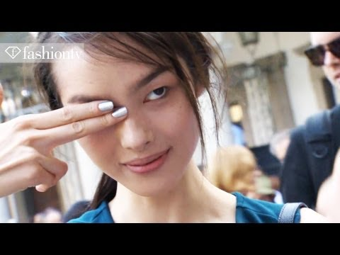 Model Talks - Fei Fei Sun Interview and Runway Highlights at Fashion Week Spring 2012 | FashionTV
