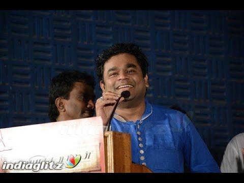AR Rahman and Vasanthabalan speech at Kaaviya Thalaivan Audio Launch | Siddharth, Nassar