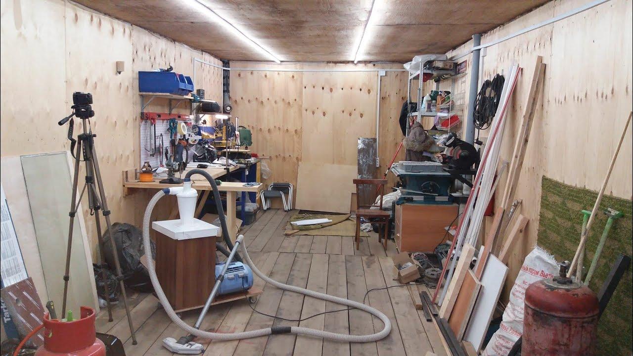 Модернизация гаража своими руками 25