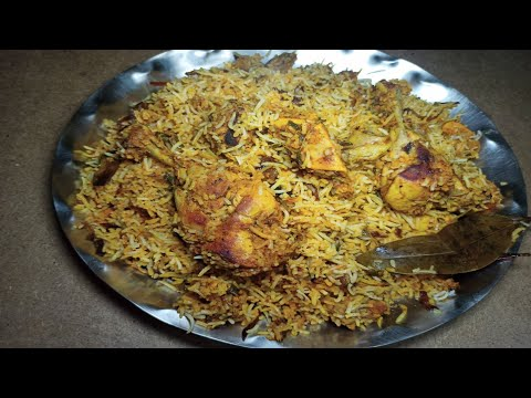 Chicken dhum biryani|| chicken biryani making in telugu
