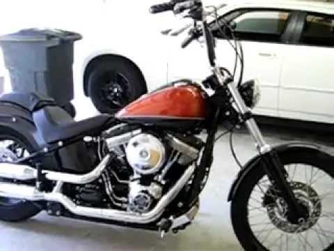 Harley Blackline Apes Pt 2 Youtube