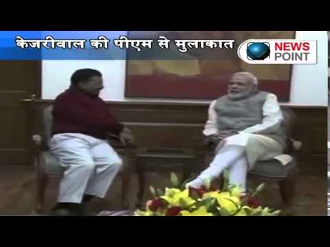 Arvind Kejriwal meets PM Narendra Modi, invites him for swearing-in ceremony