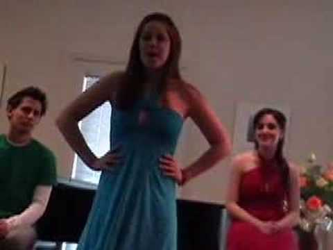 I Sing U of Michigan Musical Theatre majors performing