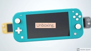 Unboxing Nintendo Switch Lite Turquoise
