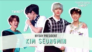 seungmin being the biggest myday (president) | #2
