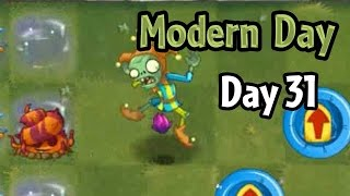 Plants vs Zombies 2 - Modern Day - Day 31: Glitch with Escape Root