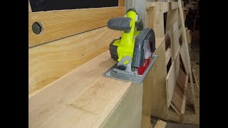 Save Hundreds! The Ultimate DIY Track Saw 2 0
