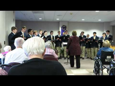 Feliz Navidad performed by Marquette University High School Choir