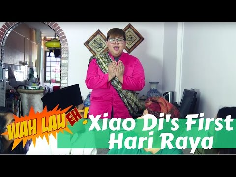 Xiao Di's First Hari Raya | WahLau Eh! #1 | Happy-TV