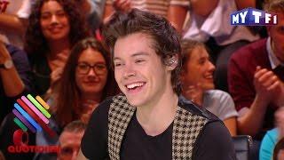 Harry Styles dans Quotidien : les fans étaient à fond ! - Quotidien du 27 Avril