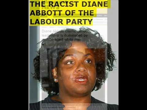 DIANE ABBOTT MP LABOUR PARTY RACIST HYPOCRITE