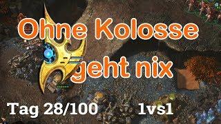 100 Tage Starcraft 2 Challenge -  ... Folge  28/100 (german/deutsch)