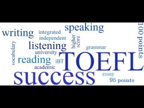 Как готовиться к сдаче теста TOEFL