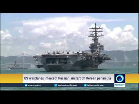 U.S. Warplanes Intercept Russian Aircrafts Off Korean Peninsula