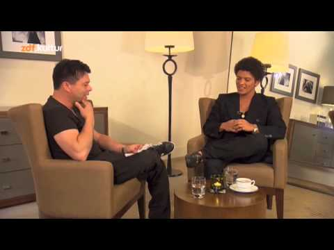 ZDF Kultur  - Bruno Mars Interview (Online Bonus)