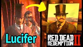 Lucifer Cabin Mystery Solved in Red Dead Redemption 2 (RDR2): Strange Man Painting and Herbert Moon
