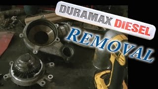 02 Duramax LB7 Water Pump Removal