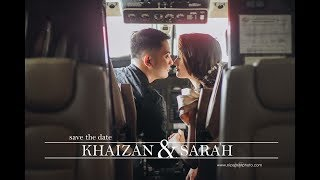 Khaizan and Sarah | Save the date by Nice Print Photography