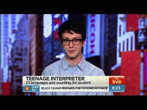 Teen speaks 20 languages