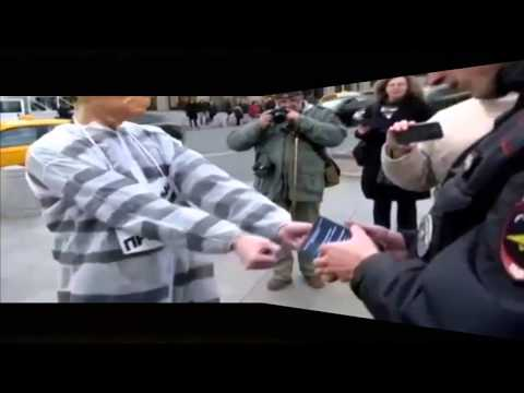 Ukraine War.Moscow anti-war protest Putin war crimes was released on the 62nd birthday of Putin