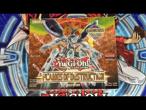 NEW SET! Yugioh Flames of Destruction 1st Ed Unboxing | Tons of Link Monsters!