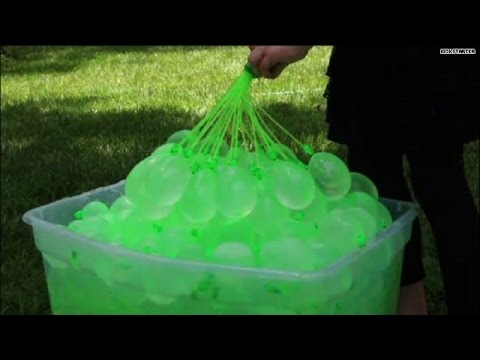 Win the water balloon arms race!