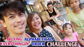Buying Everything in ALPHABETICAL ORDER Challenge! : MOST REQUESTED