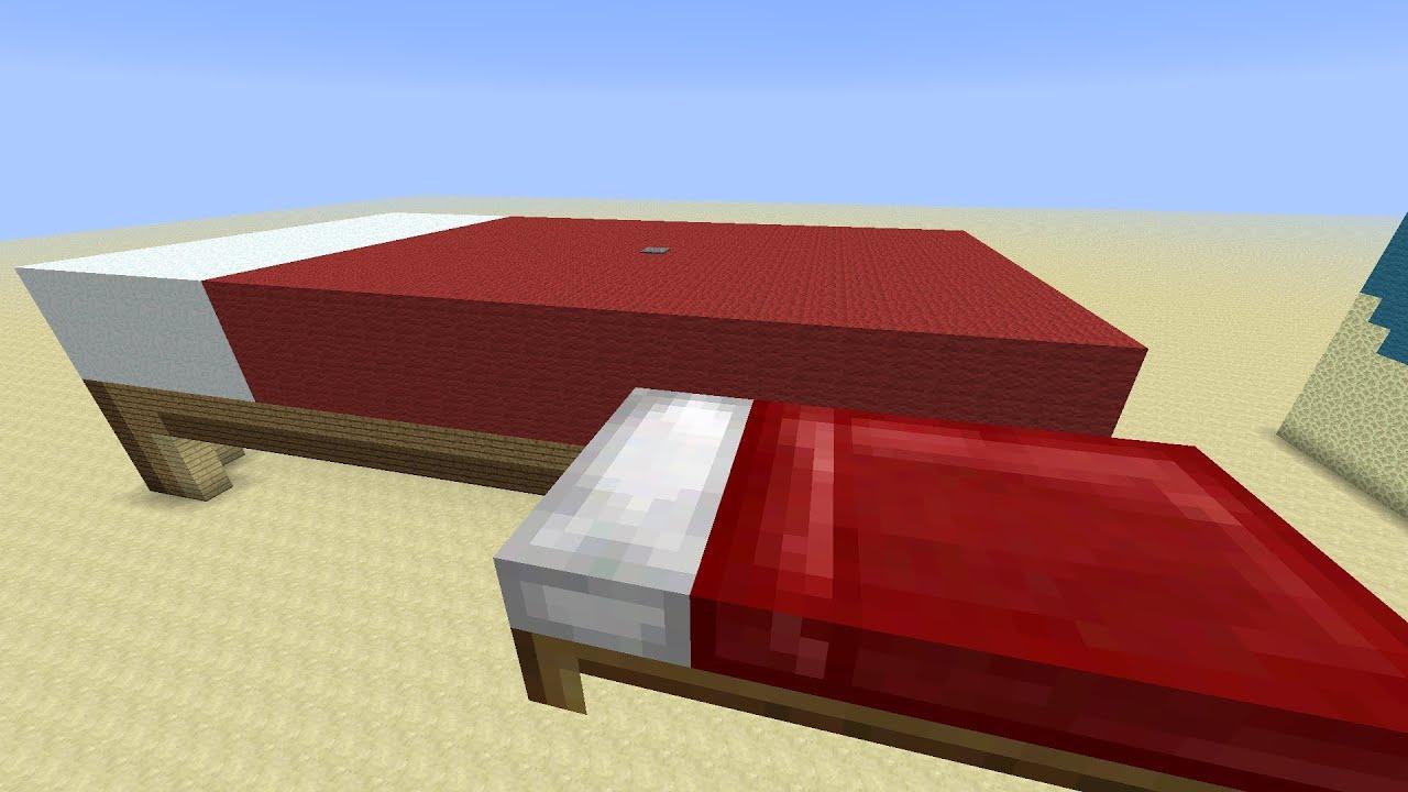Minecraft Furniture Bed Room