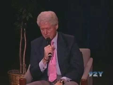 0 Former President Bill Clinton at the 92nd Street Y