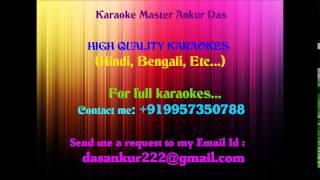 Chupi Chupi Bolo Keu Jene Jaabe Karaoke By Ankur Das 09957350788