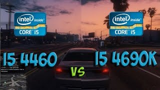 i5 4460 vs i5 4690k Test in 5 Games (R9 380)